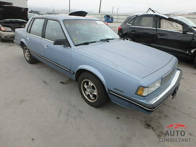 CHEVROLET ALL OTHER 1988 - 3G1AW51W5JS516697