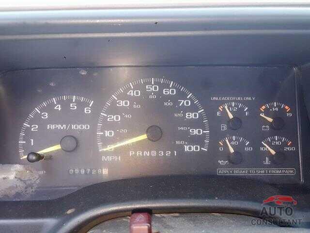 GMC SIERRA 1997 - 5YFBURHE5JP802326