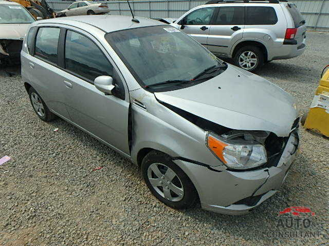 CHEVROLET AVEO 2009 - 5N1AT2MT0GC920985