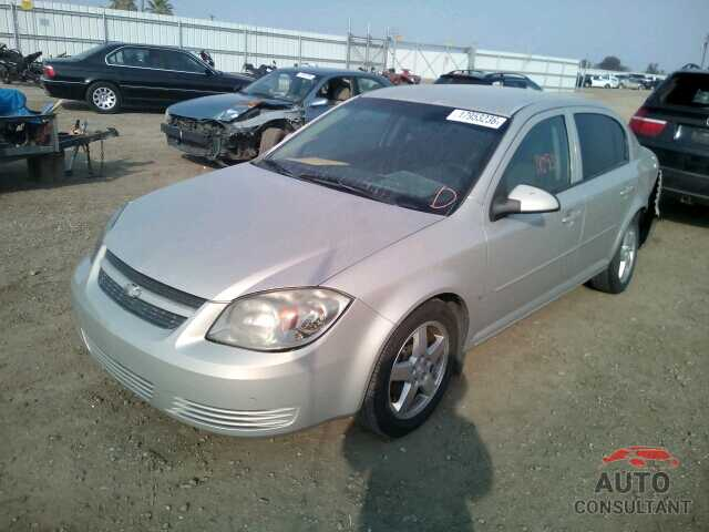CHEVROLET COBALT 2009 - 1G1AT58H497182222