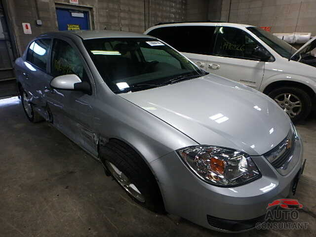 CHEVROLET COBALT 2009 - 1G1AT58H897149871