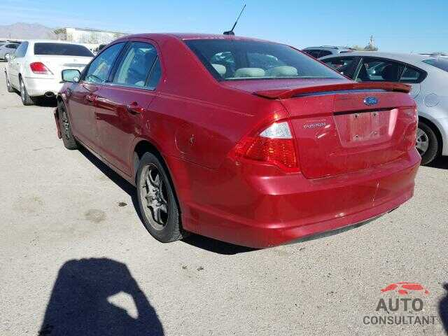 FORD FUSION 2010 - JF2GTAMC5K8323563