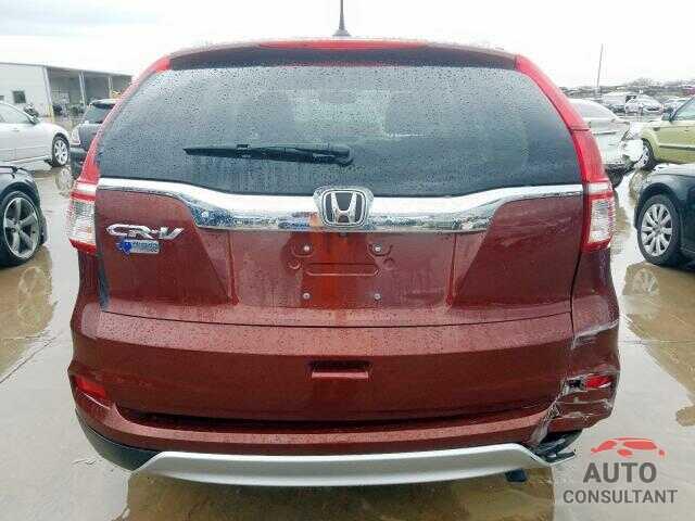 HONDA CRV 2015 - 5XXGU4L35JG190779