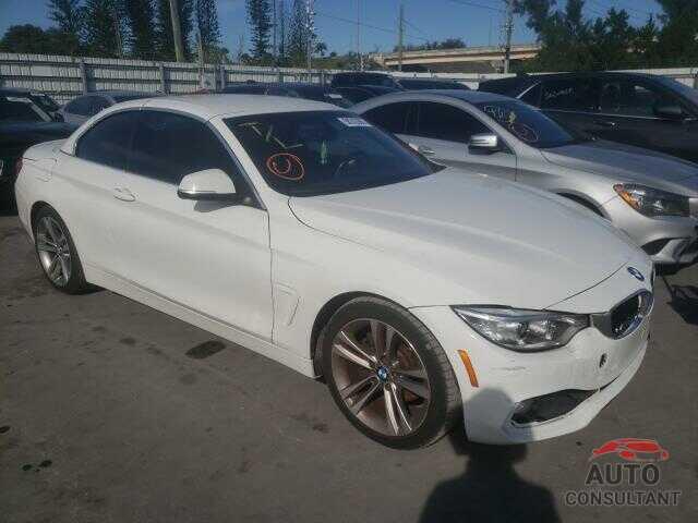 BMW 4 SERIES 2016 - WBA3V7C55G5A25715