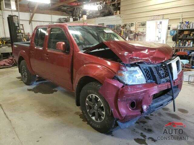 NISSAN FRONTIER 2016 - 1N6AD0EV4GN783492