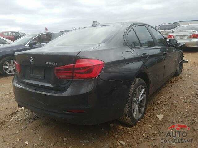 BMW 3 SERIES 2016 - WBA8A9C54GK617781