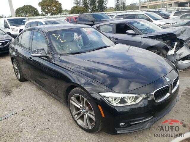 BMW 3 SERIES 2016 - WBA8E9C53GK647715