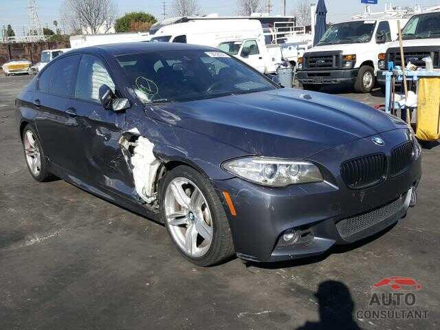 BMW 5 SERIES 2016 - WBA5B1C58GG132094