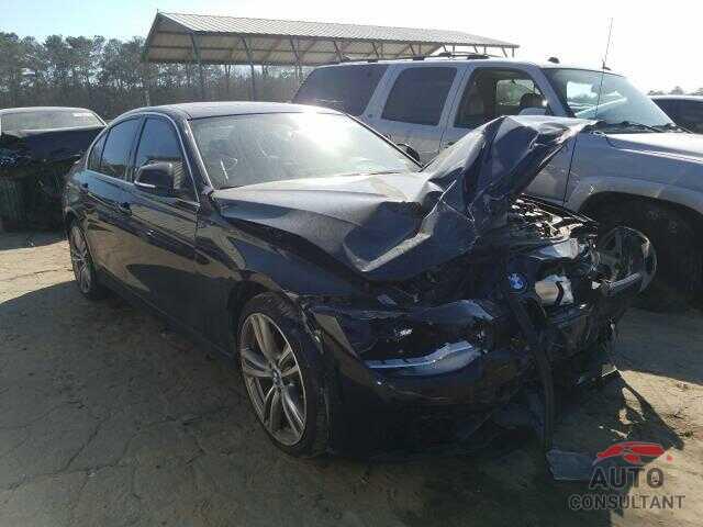 BMW 3 SERIES 2016 - WBA8B3G53GNT62883