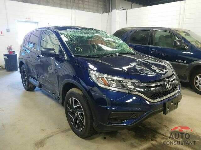 HONDA CRV 2016 - 2HKRM4H42GH726272