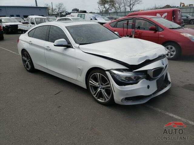 BMW 4 SERIES 2016 - WBA4C9C50GG139354