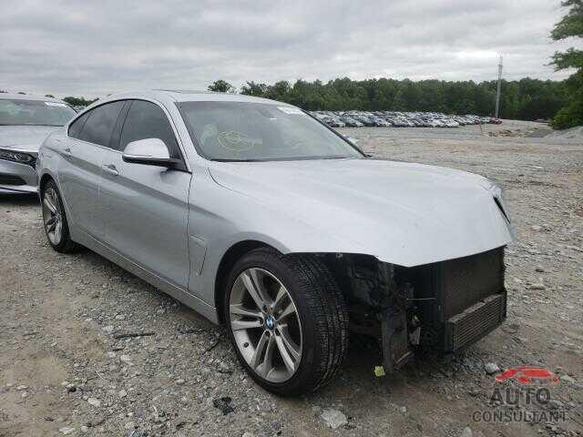 BMW 4 SERIES 2016 - WBA4A9C50GGL88842