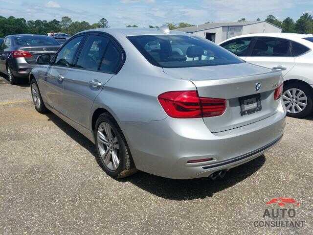 BMW 3 SERIES 2016 - WBA8E9C54GK647576