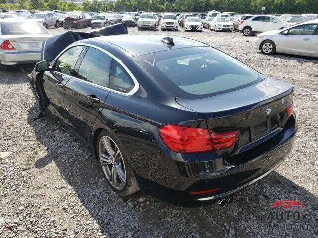 BMW 4 SERIES 2016 - WBA4A9C50GG506257
