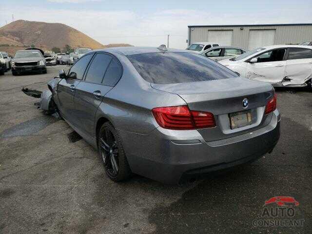 BMW 5 SERIES 2016 - WBA5B1C55GG552430