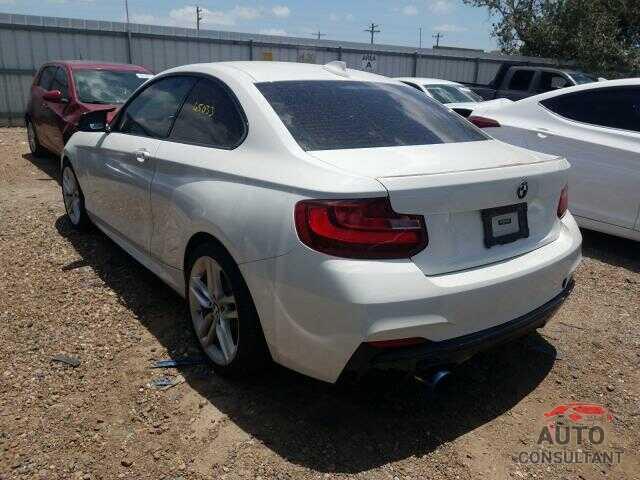 BMW 2 SERIES 2016 - WBA1F9C58GV742090