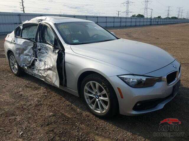 BMW 3 SERIES 2016 - WBA8E5G51GNU19147