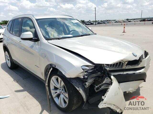 BMW X3 2016 - 5UXWZ7C58G0R32715