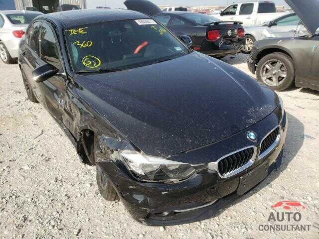 BMW 3 SERIES 2016 - WBA8E3C51GK502976