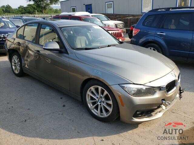 BMW 3 SERIES 2016 - WBA8E5G54GNT40877