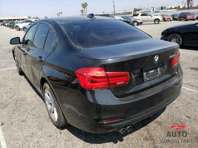 BMW 3 SERIES 2016 - WBA8E9C51GK645624