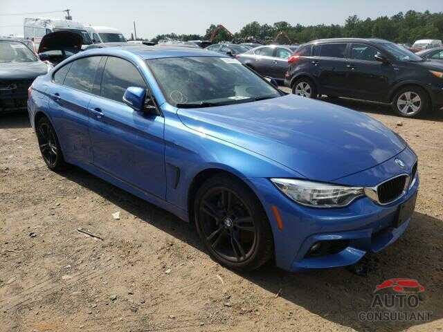BMW 4 SERIES 2016 - WBA4C9C58GG139294
