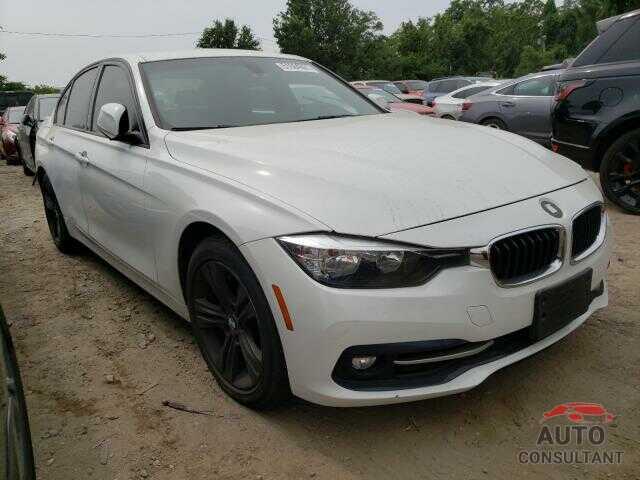 BMW 3 SERIES 2016 - WBA8E9G56GNT43884