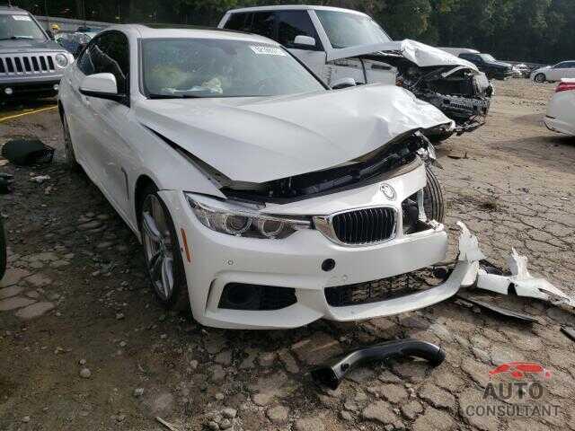 BMW 4 SERIES 2016 - WBA4B1C51GG242044