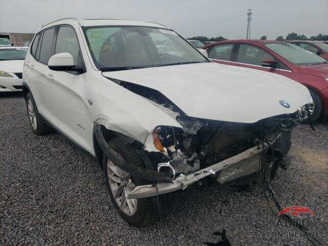 BMW X3 2016 - 5UXWX9C53G0D87267