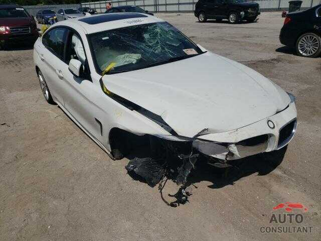 BMW 4 SERIES 2016 - WBA4C9C58GG139747