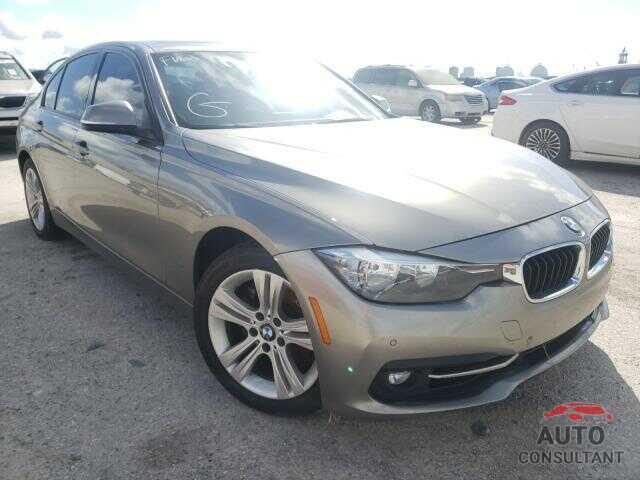 BMW 3 SERIES 2016 - WBA8E9G51GNT83063