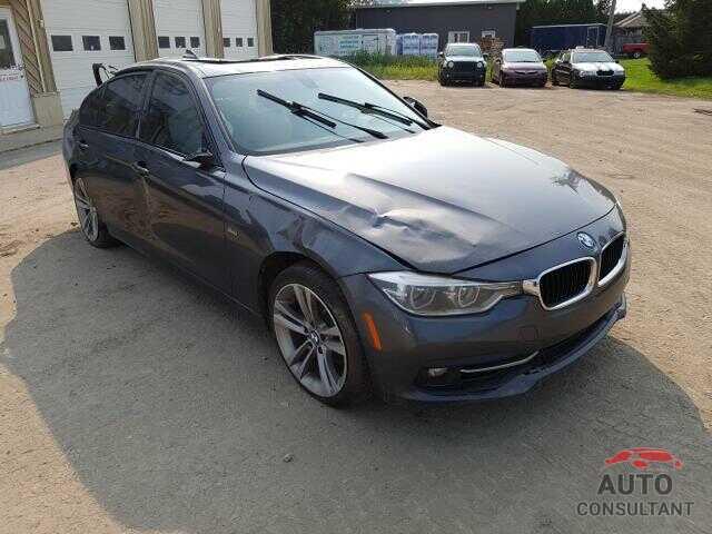 BMW 3 SERIES 2016 - WBA8E3C57GK501721