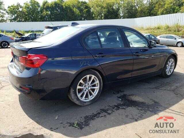 BMW 3 SERIES 2016 - WBA8E5G54GNT40278
