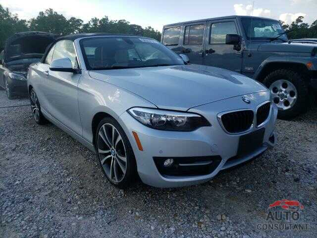 BMW 2 SERIES 2016 - WBA1K9C5XGV710270