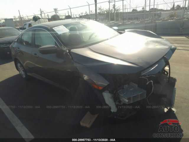 HONDA CIVIC SEDAN 2016 - 2HGFC2F54GH565875