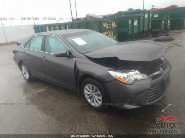TOYOTA CAMRY 2016 - 4T4BF1FK5GR571218