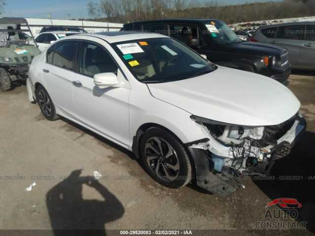 HONDA ACCORD SEDAN 2016 - 1HGCR2F70GA027661
