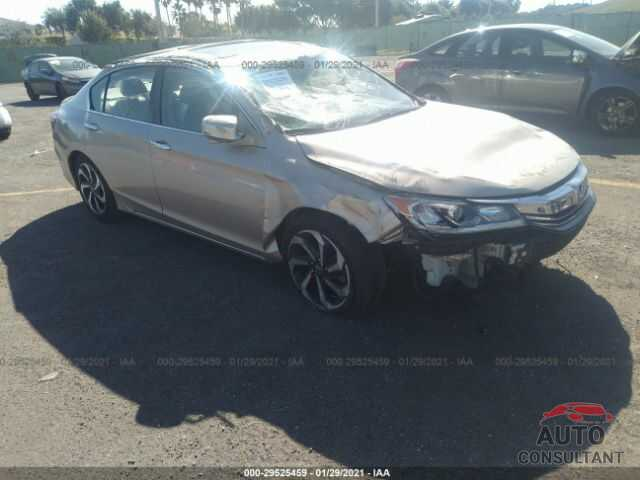 HONDA ACCORD SEDAN 2016 - 1HGCR2F71GA181487