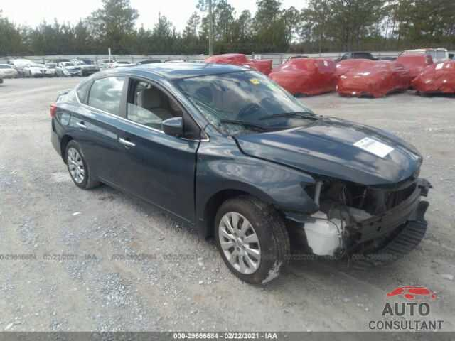NISSAN SENTRA 2016 - 3N1AB7APXGY213222