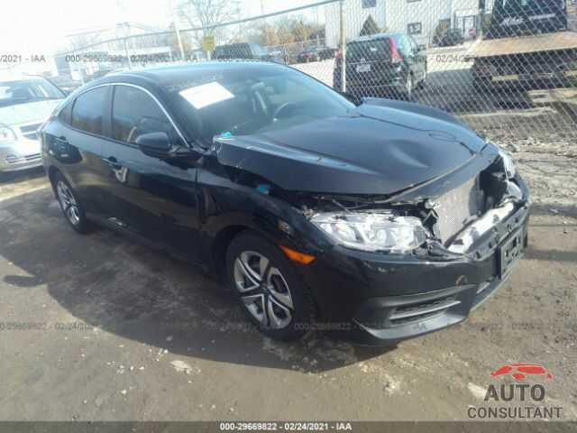 HONDA CIVIC SEDAN 2016 - 19XFC2F54GE232649