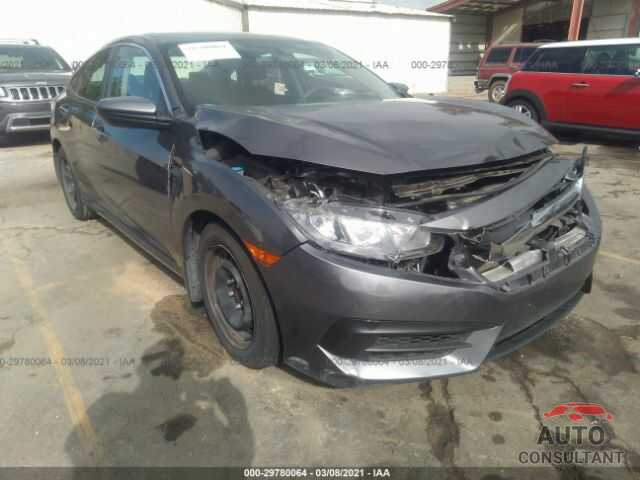 HONDA CIVIC SEDAN 2016 - 19XFC2F59GE027862