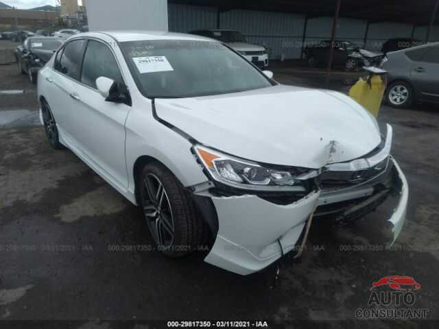 HONDA ACCORD SEDAN 2016 - 1HGCR2F53GA190755