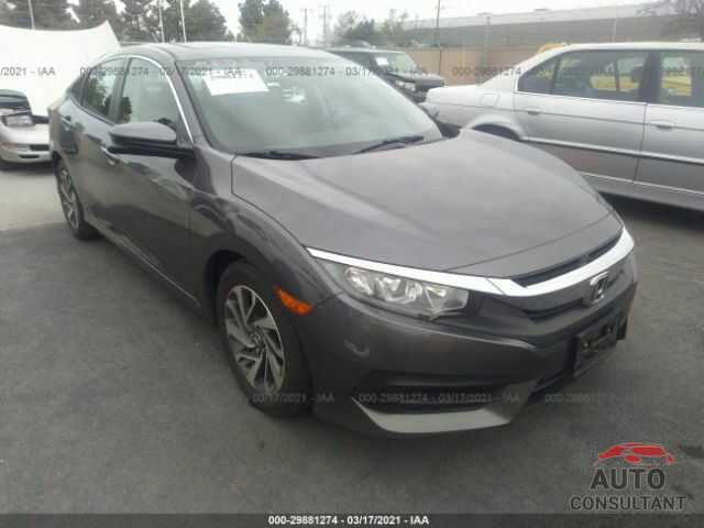HONDA CIVIC SEDAN 2016 - 19XFC2F79GE219056
