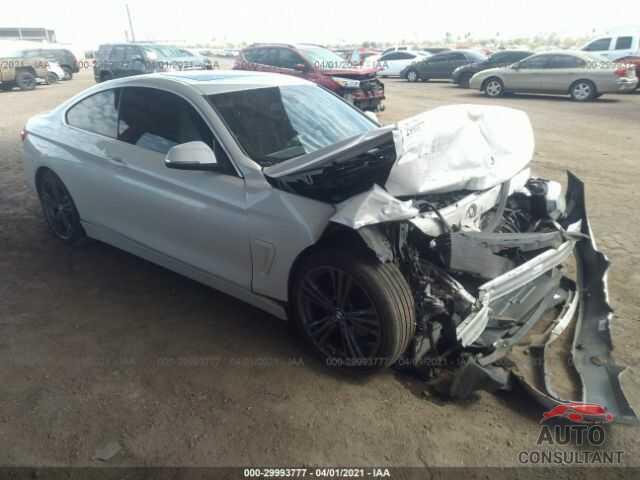 BMW 4 SERIES 2016 - WBA3N7C51GK228888