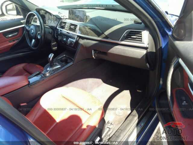 BMW 3 SERIES 2016 - WBA8E3G53GNT77505