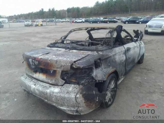 BMW 2 SERIES 2016 - WBA1L9C53GV767116