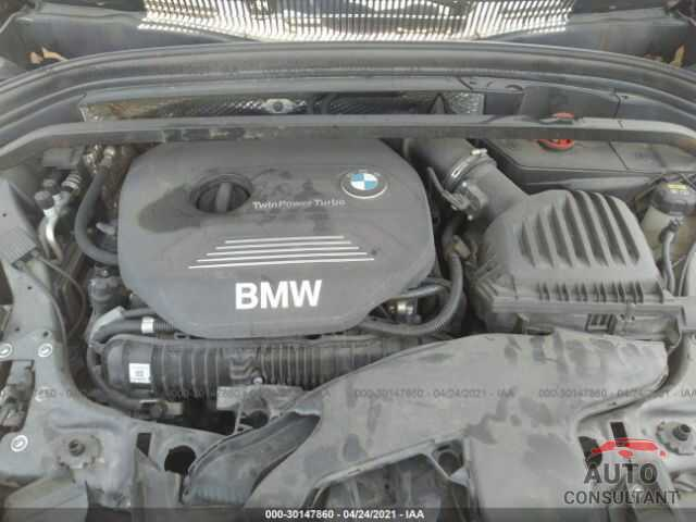 BMW X1 2016 - WBXHT3C36GP889733