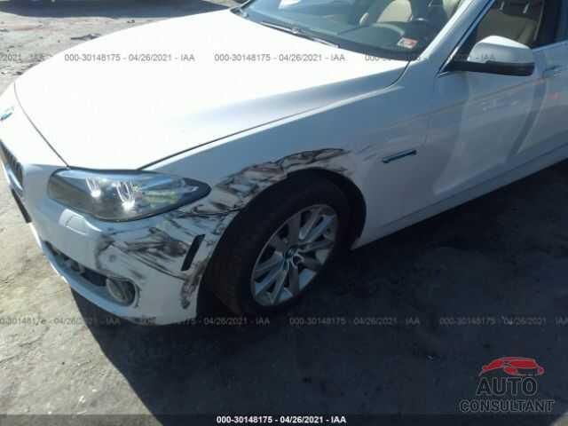 BMW 5 SERIES 2016 - WBA5B1C52GG131376