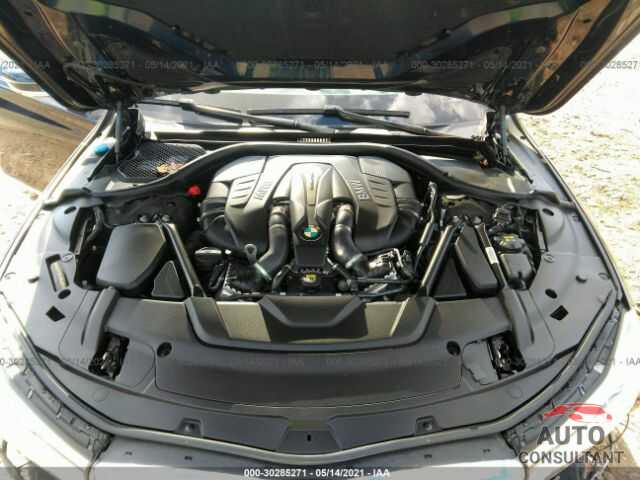 BMW 7 SERIES 2016 - WBA7F2C54GG420746
