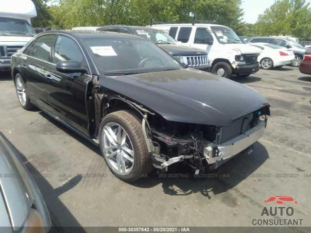 AUDI A8 L 2016 - WAU43AFD2GN021323